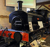 Tiny, Ingrow, Fri 10 February 2010.  Barclay 0-4-0ST 2258 / 1949, built for Manchester Corporation gas works, now owned by the Bahamas Loco Soc.