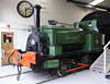 Lord Mayor, Ingrow, Fri 10 January 2012.  Hudswell Clarke 0-4-0ST 402 / 1893 owned by the Vintage Carriages Trust.