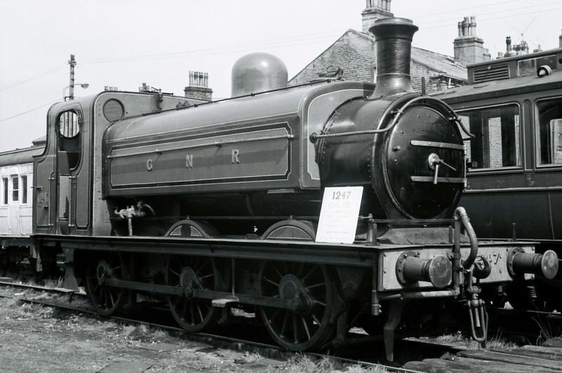 GNR 1247 (BR 68846), Haworth, Sun 16 April 1967