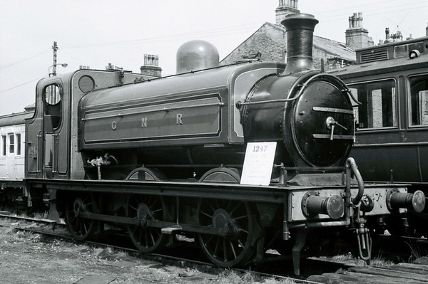 GNR 1247 (BR 68846), Haworth, Sun 16 April 1967