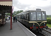 M 51571 & 50971, Bodiam Fri 8 June 2012 - 1241.  The class 108 DMU waits to leave with the 1245 to Tenterden.