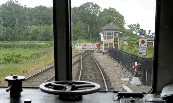 Arriving at Wittersham Road, Fri 8 June 2012 - 1311.  Looking back towards Bodiam from M 50971.