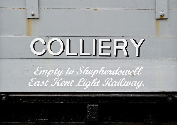 Tilmanstone colliery wagon, Bodiam, Fri 8 June 2012.  The East Kent Light Rly was another Stephens line.
