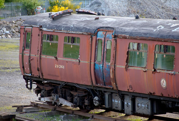 LMS 28361, Tebay, 8 June 2009 1.   Here are three shots of this driving motor car, built at Derby in 1939.