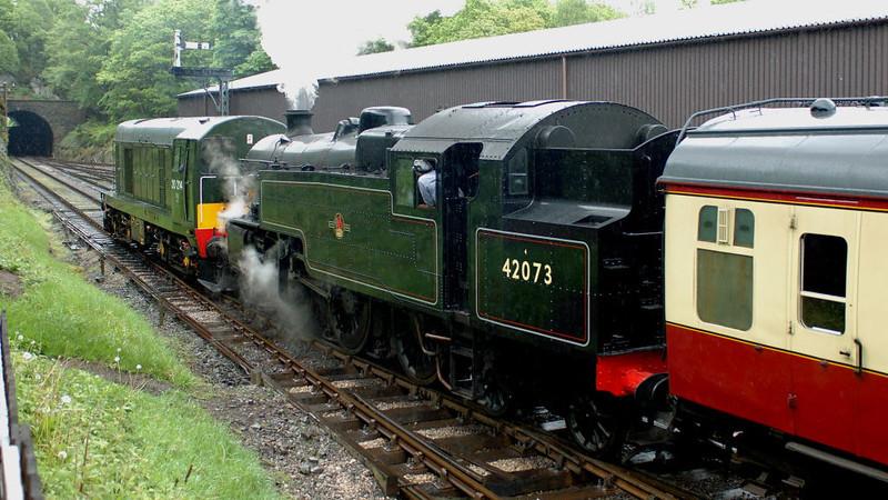 20214 (D8314)& 42073, Haverthwaite,, Sun 21 May 2006 4