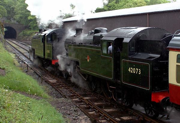 42085 & 42073, Haverthwaite, Sun 21 May 2006 2