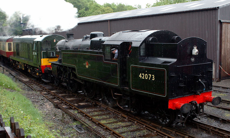42073 & 20214, Haverthwaite, Sun 21 May 2006