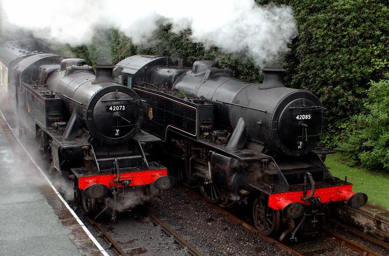 42073 & 42085, Haverthwaite, Sun 21 May 2006