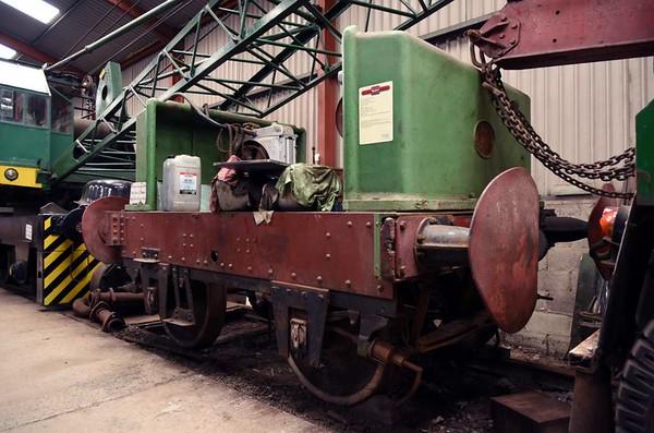 'Rachel', Haverthwaite, Sat 29 April 2017.  Motor Rail (Simplex) 4wPM 2098 / 1924.