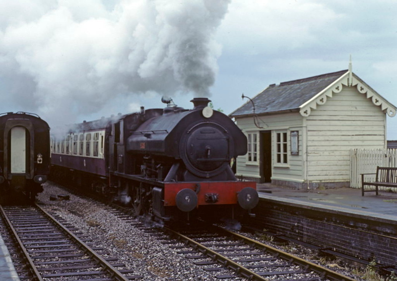 Victor, Williton, 25 May 1980.  Baganall 0-6-0ST 2996 / 1951.  Photo by Les Tindall.