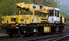 DRP 81530 - Plasser & Theurer heavy duty diesel hydraulic crane, formerly owned by Carillion.