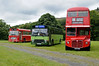Bristol SJA 382K, Leyland B105 KPF & Routemaster JJD 446D, Glyndyfrdwy, Sat 27 August 2011.  Here are a few shots of a Crosville bus rally at Glyndyfrdwy.