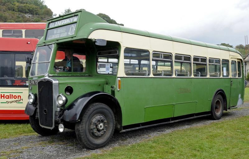 Bristol LFM 759, Glyndyfrdwy, Sat 27 August 2011.