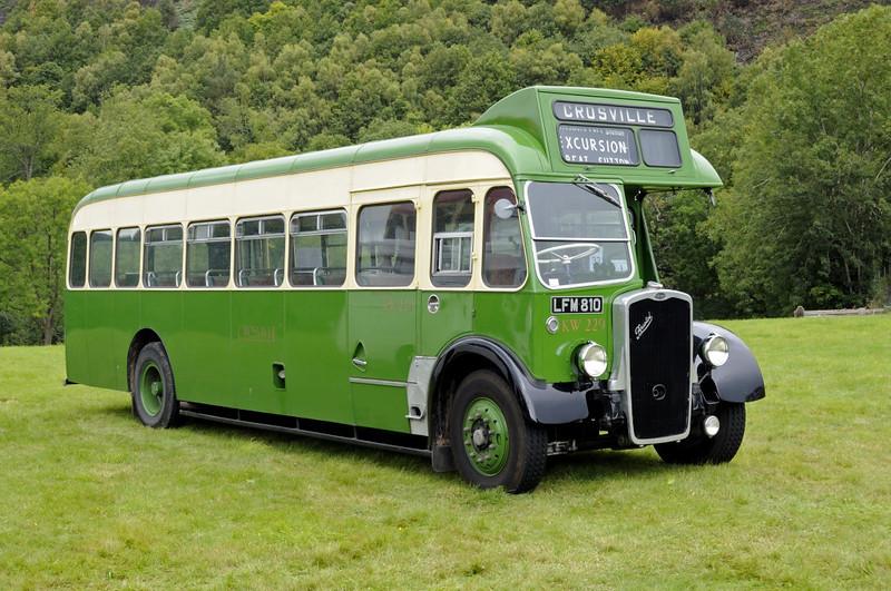 Bristol LFM 810, Glyndyfrdwy, Sat 27 August 2011.