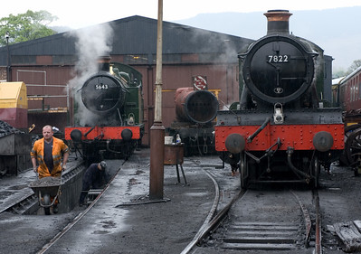 Llangollen Railway steam, 2007