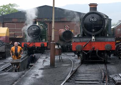 Llangollen Railway steam, 2007