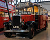 Leyland Cub CLE 122, London Transport Museum, Covent Garden, Sun 1 April 2012.  In service 1936 - 1954.