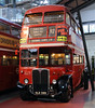 AEC RT OLD 589, London Transport Museum, Covent Garden, Sun 1 April 2012.  In service 1954 - 1970.