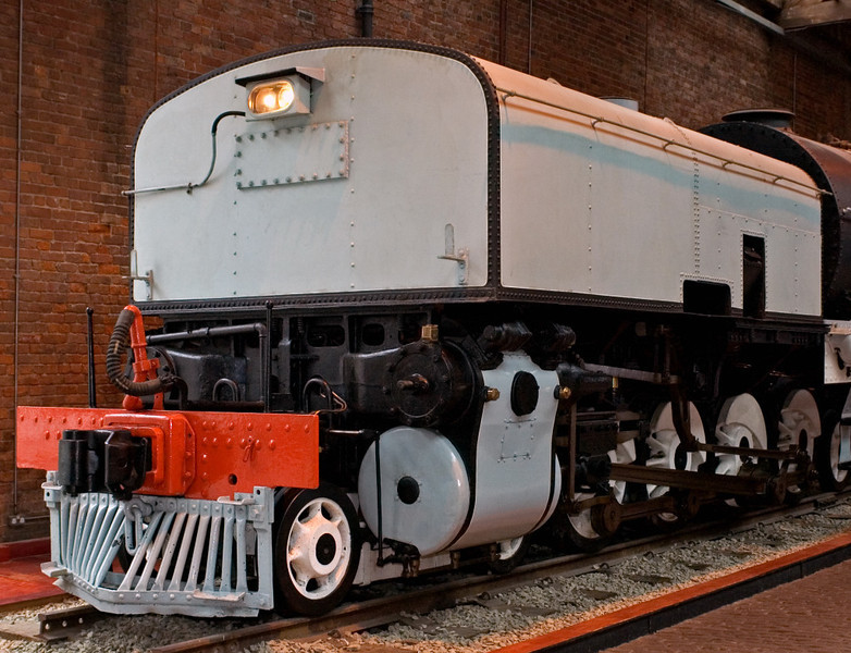 South African Rlys No 2352, Manchester Museum of Science & Industry, 15 September 2005 2.