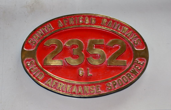 South African Rlys No 2352, Manchester Museum of Science & Industry, 15 September 2005 5.