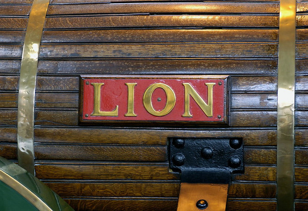 Lion, Manchester Museum of Science & Industry, 15 September 2005 3.