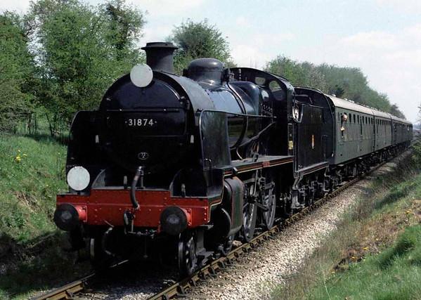 31874 Brian Fisk, near Ropley, 1988