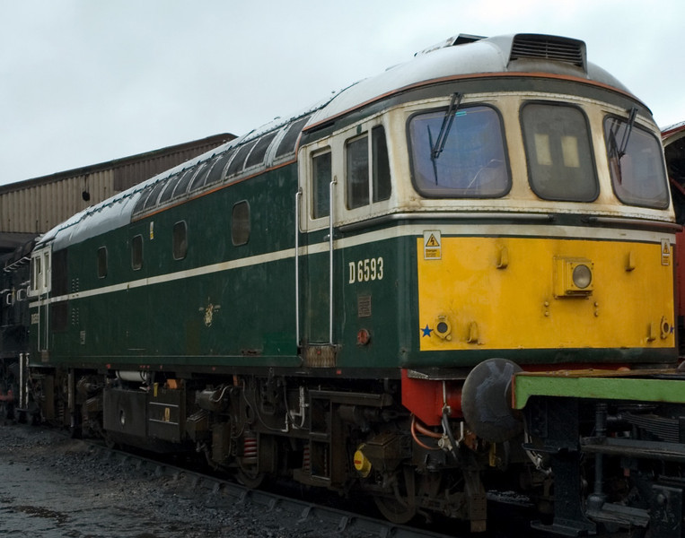 D6593 [33208], Ropley, 4 March 2007