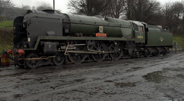 34016 Bodmin, Ropley, 4 March 2007 1