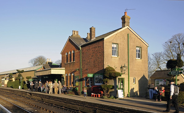 Ropley station, Sun 9 March 2014 4