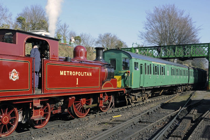 Metropolitan Rly No 1, Ropley, Sun 9 March 2014 4 - 1100.