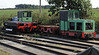 Hardingham yard diesels, Wed 28 August 2013 2.  Unidentifed Schoma three foot gauge diesels.