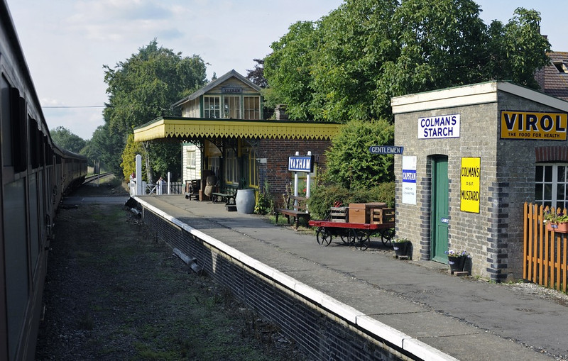 Yaxham station, Wed 28 August 2013 2.  Everything seen here is privately owned.