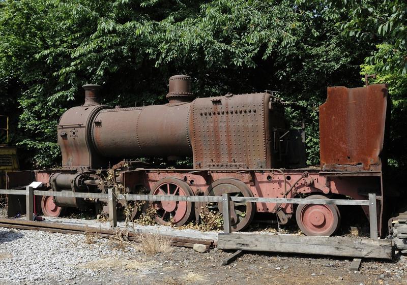 Picton, Moor Road station, Middleton Rly, Leeds, Sun 14 July 2013.  Standard gauge 2-6-2T built by Hunslet (1540 / 1927) for a sugar cane railway in Trinidad.