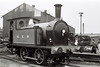 Ian Allan excursion to the Middleton Rly, 17 September 1967 6.  North Eastern Rly 0-4-0T No 1310 stands in Dartmouth yard.  It now carried NER markings.