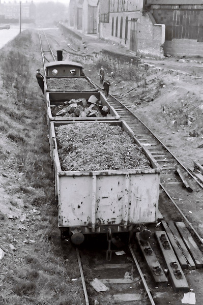 North Eastern Rly 1310, Balm Road branch, 15 April 1967 3. Beyond the loco is the spur leading into Clayton's Moor End works.