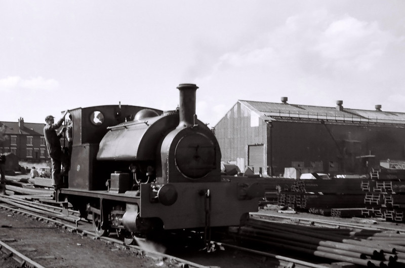 Bagnall 2702, Dartmouth yard, 2 July 1966