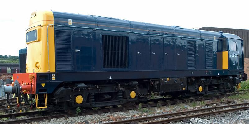 20205 (as 20907), Swanwick Junction, 24 June 2007