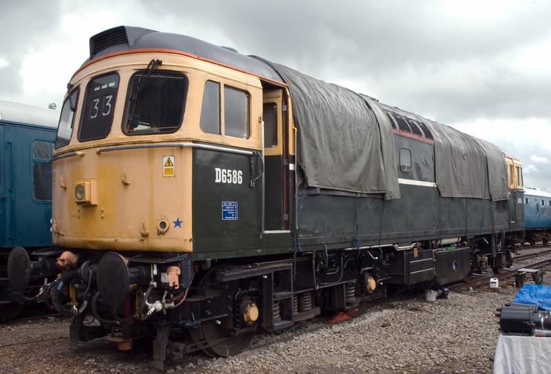 D6586 (33201), Swanwick Junction, 24 June 2007