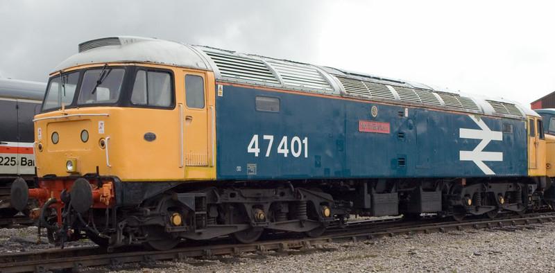 47401 North Eastern, Swanwick Junction, 24 June 2007 1