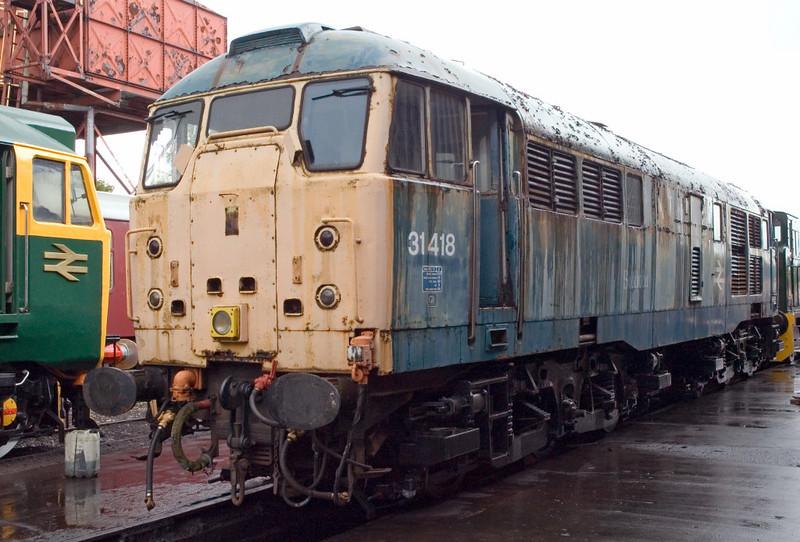 31418, Swanwick Junction, 24 June 2007
