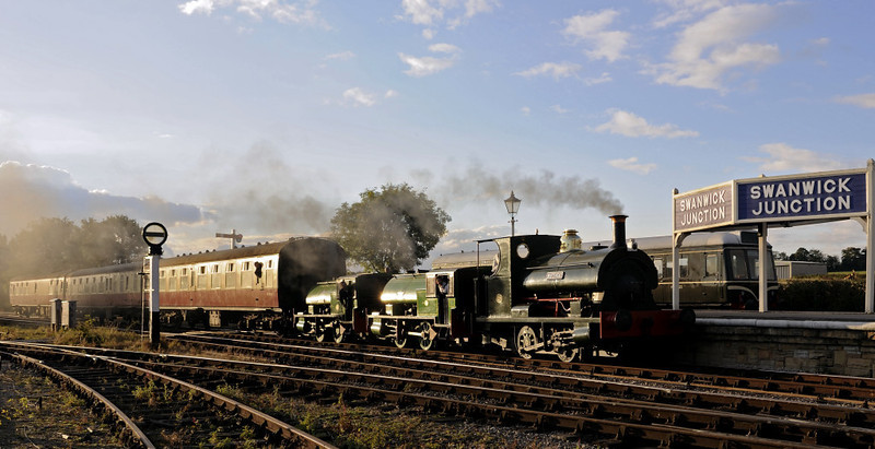 Whitehead, Judy & Alfred, Swanwick Junction, Sun 14 October 2012 - 1710 2.