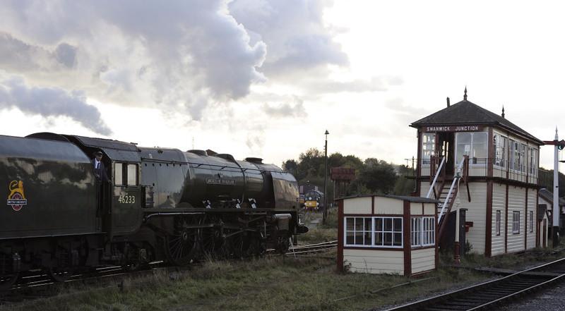 46233 Duchess of Sutherland, Swanwick Junction, Sun 14 October 2012 - 1603 2.