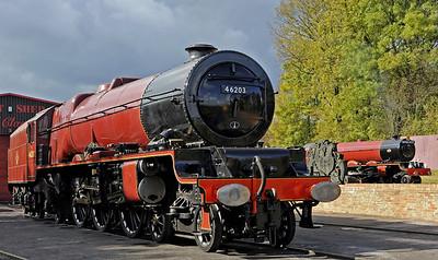 Midland Railway Centre gala steam, 2012