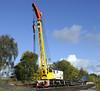 DRT 81340, Swanwick Junction, Sun 14 October 2012.  Taylor & Hubbard heavy duty diesel-electric crane.
