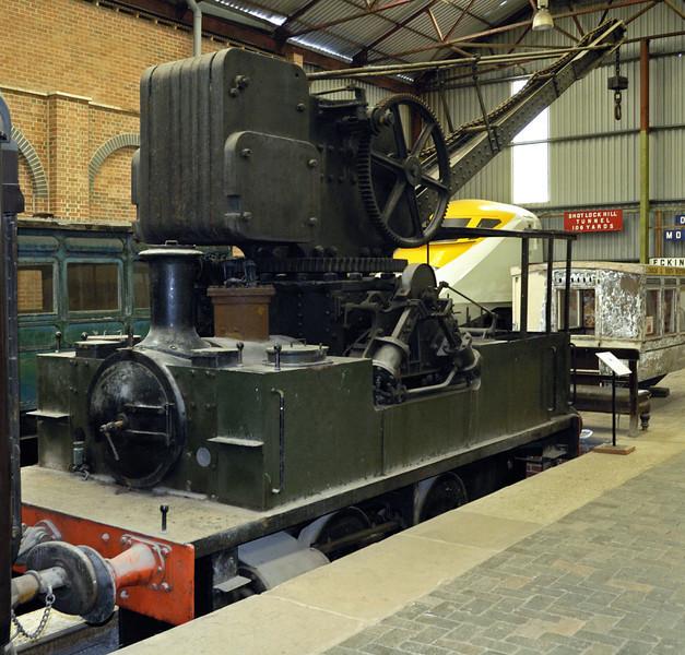 Stanton [Iron Works]  No 24, Swanwick Junction, 24 June 2007 1.    Barclay 1875 / 1925