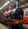 Midland Rly 2-4-0 No 158A, Swanwick Junction, Sun 14 October 2012 1.  Kirtley design, built at Derby in 1866 ..