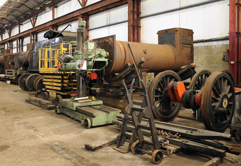 Workshop, Swanwick Junction, Sun 14 October 2012.