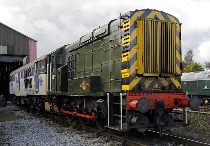 12077, Swanwick Junction, Sun 14 October 2012