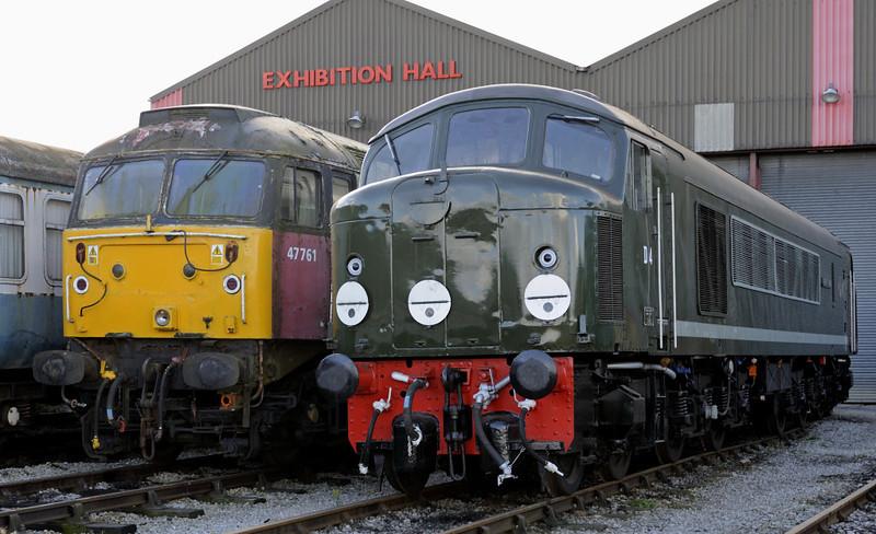 47761 & D4 Great Gable, Swanwick Junction, Sun 14 October 2012