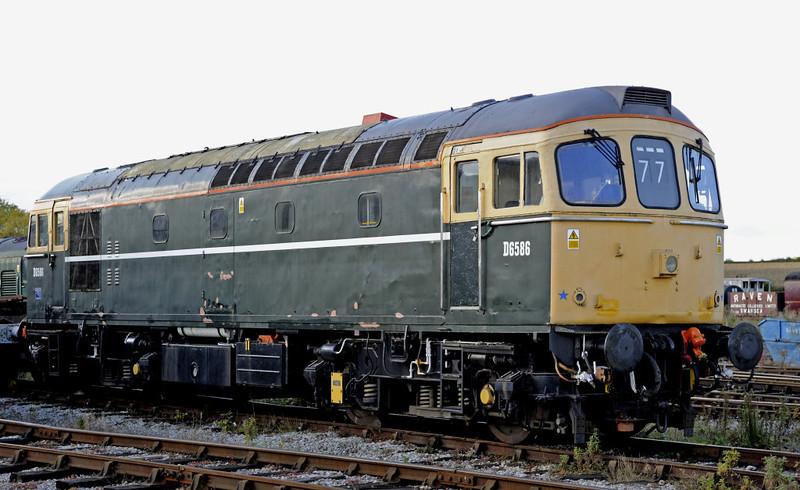 D6586 (33201), Swanwick Junction, Sun 14 October 2012